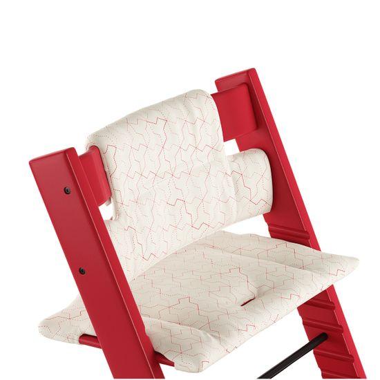 Текстиль для стульчика Stokke Tripp Trapp, от 6 мес., арт. 1003, цвет Geometric Red