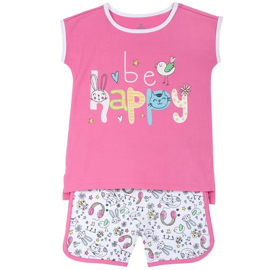 Пижама Chicco Bee happy, арт. 090.35374.018, цвет Розовый