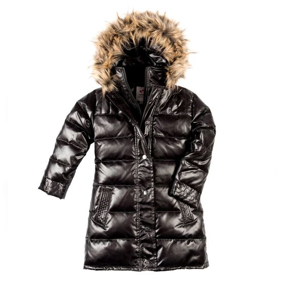 Куртка пуховая AppamanSparkle black, арт. 183.S5LD-SPB, цвет Черный
