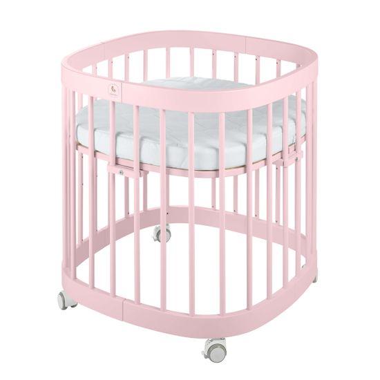 Кроватка-трансформер 7 в 1 Tweeto, арт. T0, цвет Розовый