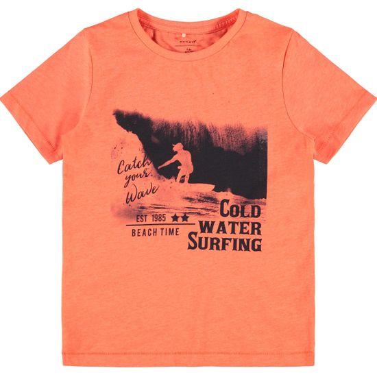 Футболка Name it Surfing time, арт. 211.13188171.SORA, цвет Оранжевый