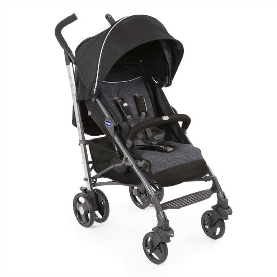 Прогулочная коляска Chicco Lite Way 3Top Special Edition Intrigue, арт. 79599.03, цвет Серый