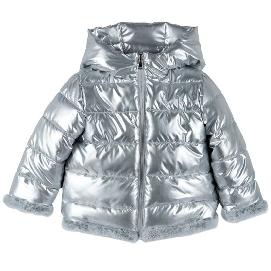 Куртка двусторонняя Chicco Queen, арт. 090.87625.095, цвет Серый