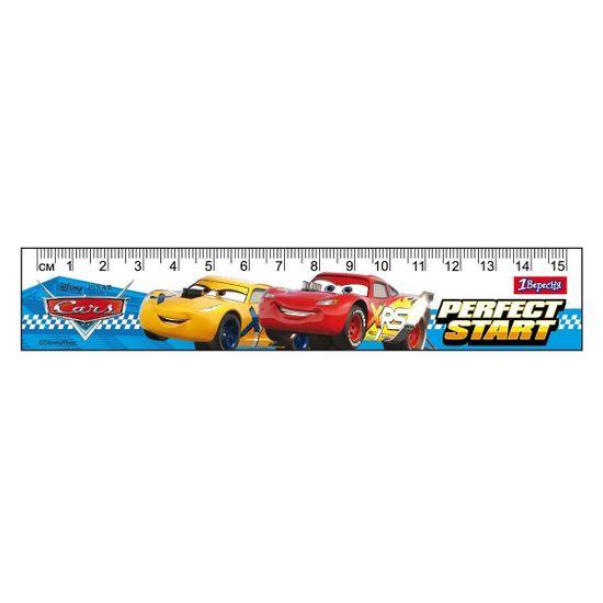 "Линейка 1Вересня ""Cars"", 15 см, арт. 370540"