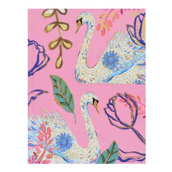 "Блокнот YES ""Bon Cote. Swan"", клетка, А5, 64 л., арт. 151387"