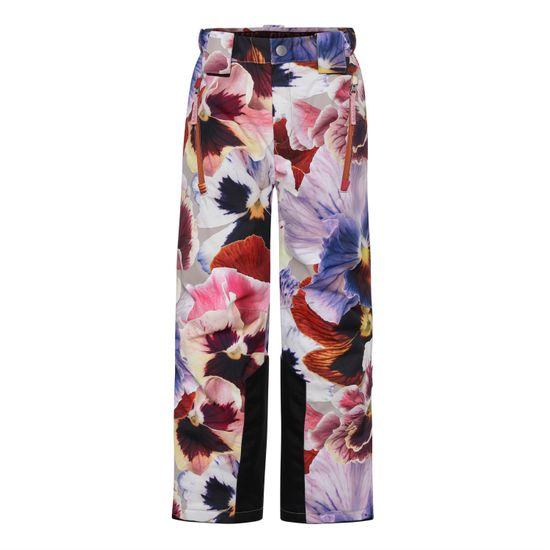 Термобрюки горнолыжные Molo Jump Pro Giant Floral, арт. 5W21I102.6352, цвет Бордовый