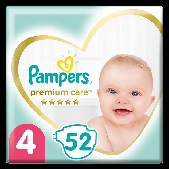 Подгузники Pampers Premium Care, размер 4, 9-14 кг, 52 шт, арт. 4015400278818