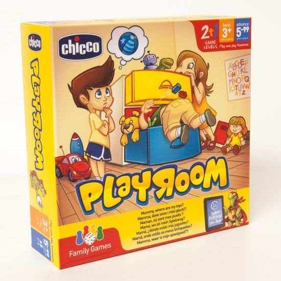 "Настольная игра Chicco ""Playroom"", арт. 09167.00"