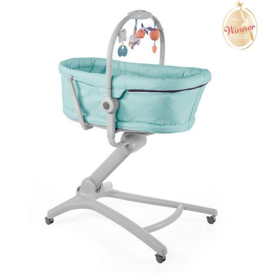 Кроватка-стульчик Chicco Baby Hug 4в1, арт. 79173, цвет Бирюзовый