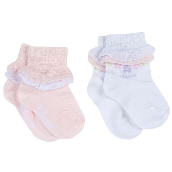Носки (2 пары) Chicco Happy princess, арт. 090.01520.011, цвет Розовый