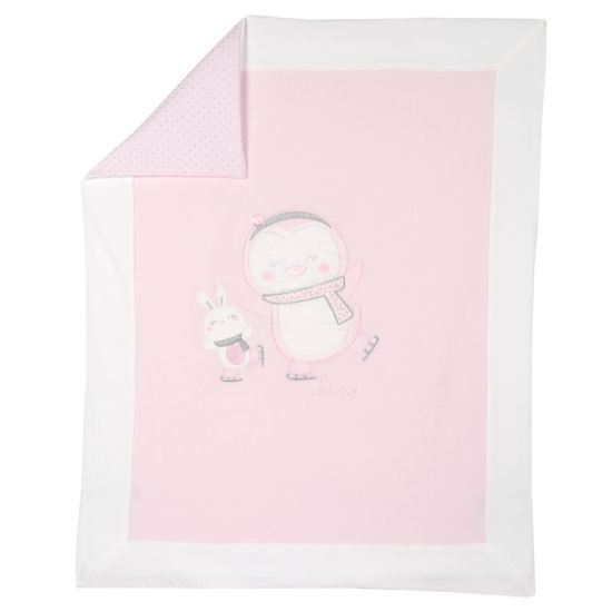 Одеяло Chicco Happy friends, арт. 090.05115.011, цвет Розовый