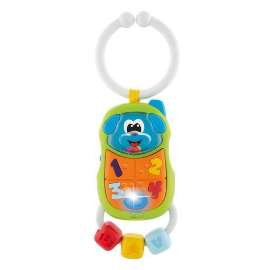 """Игрушка-погремушка Chicco """"Puppy Phone"""", арт. 09708.00"""