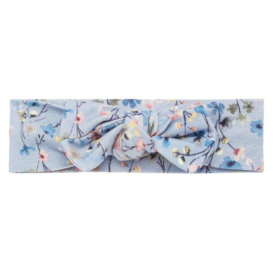 Повязка на голову Name it Flower paradise blue, арт. 211.13186342.DBLU, цвет Голубой