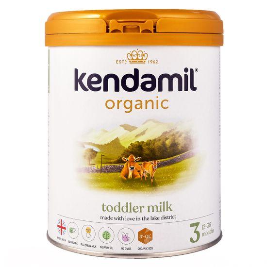 Органическая сухая молочная смесь Kendamil Organic 3, 12-36 мес., 800 г, арт. 77000264