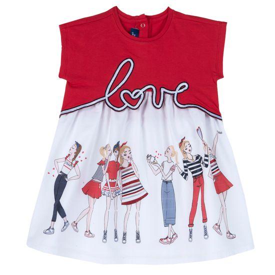Платье Chicco Friends, арт. 090.03905.075, цвет Красный