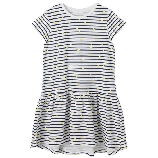 Платье Name it Senorita white, арт. 211.13189306.BWHI, цвет Синий с белым