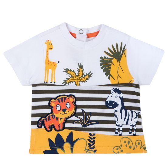 Футболка Chicco Funny toys, арт. 090.67093.033, цвет Оранжевый
