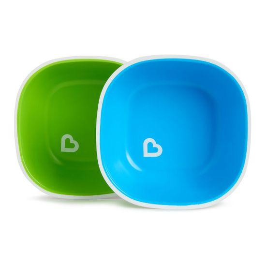 """Набор мисок Munchkin """"Splash Bowls"""", 2 шт, арт. 46725, цвет Голубой"""