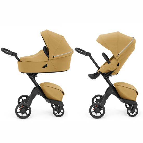 Коляска 2 в 1 Stokke Xplory X, арт. k.5714, цвет Golden Yellow