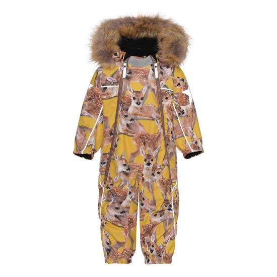 Термокомбинезон Molo Pyxis Fur Fawns, арт. 5W21N102.6349, цвет Оранжевый