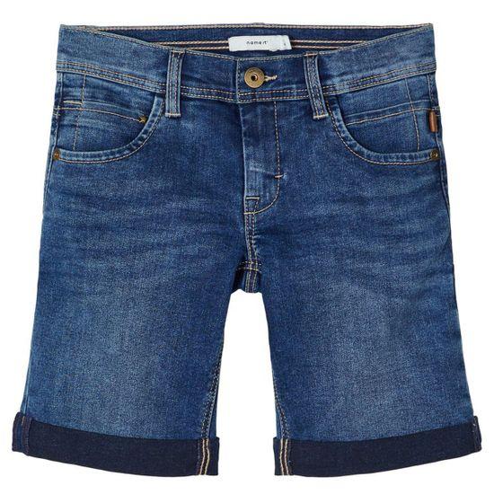 Шорты джинсовые Name it William, арт. 201.13173386.MBLU, цвет Синий