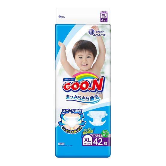 Подгузники Goo.N, размер XL, 12-20 кг, 42 шт, арт. 843132