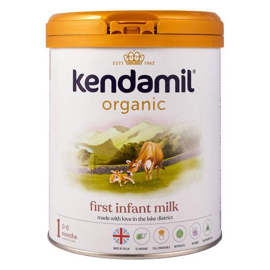 Органическая сухая молочная смесь Kendamil Organic 1, 0-6 мес., 800 г, арт. 77000262