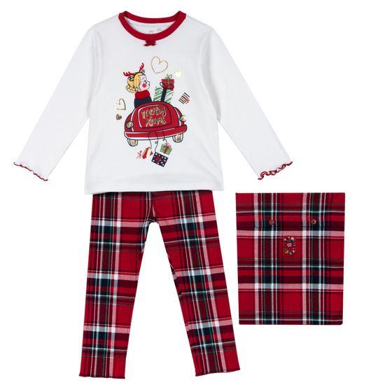 Пижама Chicco Tea, арт. 090.31327.075, цвет Красный