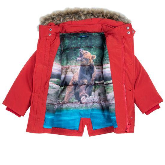 Куртка Chicco Bear, арт. 090.87530.075, цвет Красный