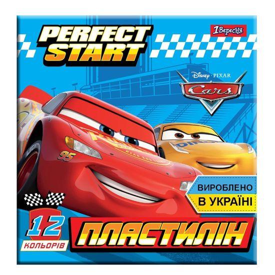 """Пластилин 1Вересня """"Cars"""", 12 цв., арт. 540547"""