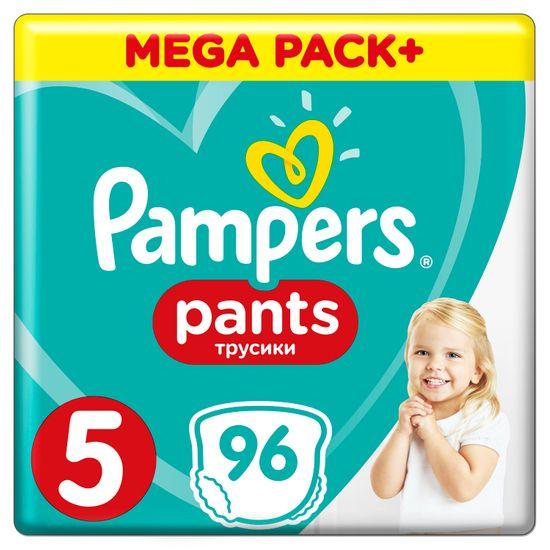 Подгузники-трусики Pampers Pants, размер 5, 12-17 кг, 96 шт, арт. 4015400697541