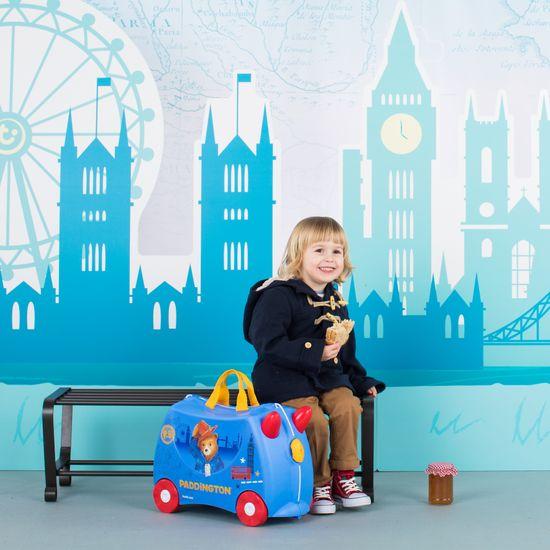 "Детский чемодан Trunki ""Paddington"", арт. 0317-GB01-UKV, цвет Голубой (фото6)"