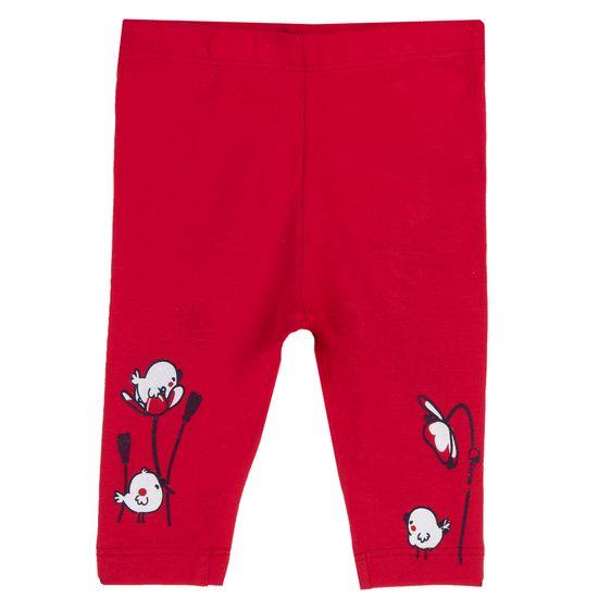 Леггинсы Chicco Cute animals, арт. 090.25910.075, цвет Красный