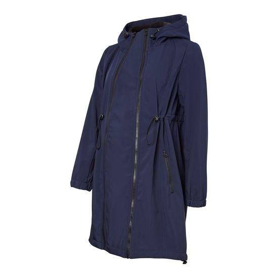 Куртка 3 в 1 Mamalicious Softshell Blue, арт. 193.20008764.NBLA, цвет Синий