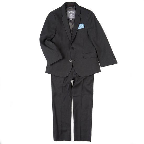 Костюм Appaman Mod Black: пиджак и брюки, арт. 183.8SU6-BL, цвет Черный