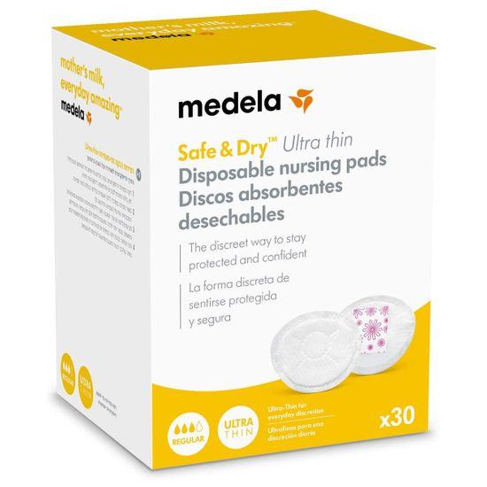 Ультратонкие прокладки для груди Medela Safe&Dry, 30 шт., арт. 101037038