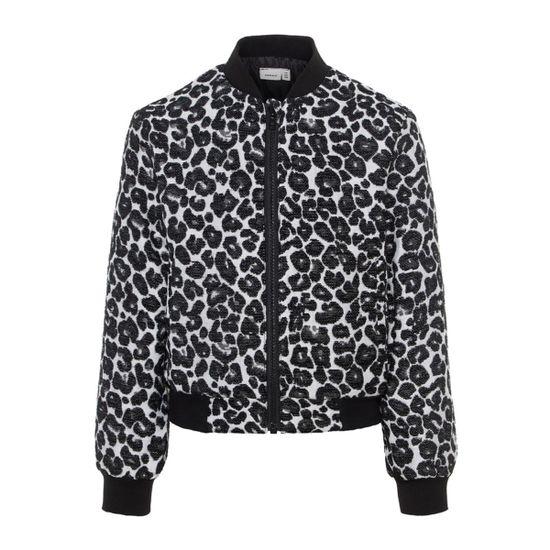 Жакет Name it Leopard, арт. 13170304.BLAC, цвет Черный