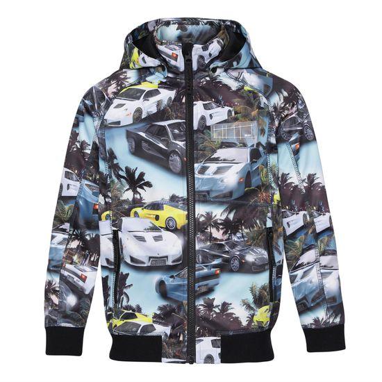 Куртка Softshell Molo Cloudy Fast Cars Blue, арт. 5S21L102.6314, цвет Голубой