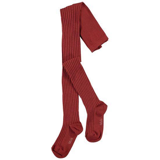 Колготы Molo Rib Tights Burnt Brick, арт. 7W21G202.8370, цвет Красный