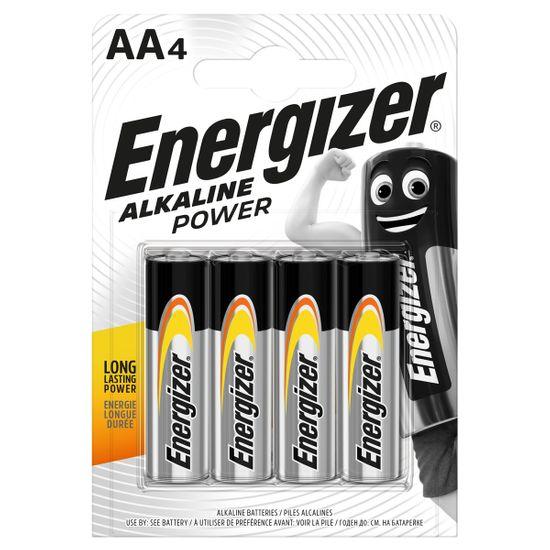 Батарейки Energizer AA Alk Power, 4 шт., арт. 6429520