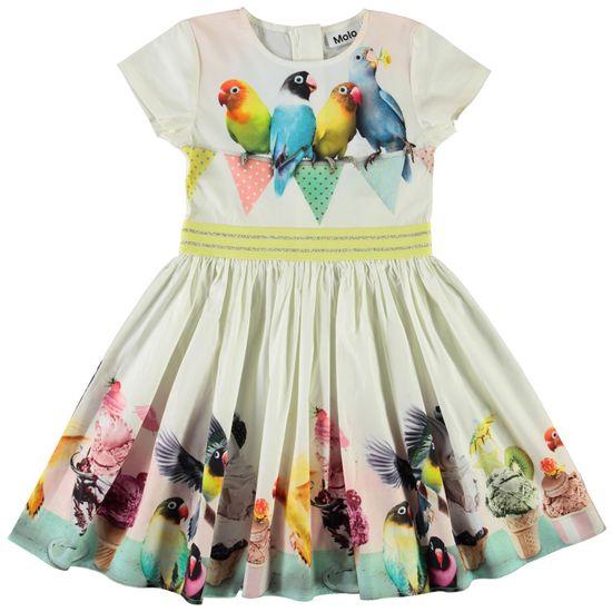 Платье Molo Candy Ice Ice Birdie, арт. 2S21E129.7367, цвет Желтый