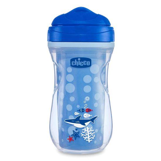 "Поильник непроливайка Chicco ""Active Cup"", 266 мл, 14м+, арт. 06981, цвет Синий"