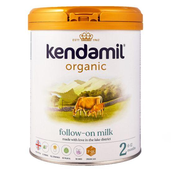 Органическая сухая молочная смесь Kendamil Organic 2, 6-12 мес., 800 г, арт. 77000263