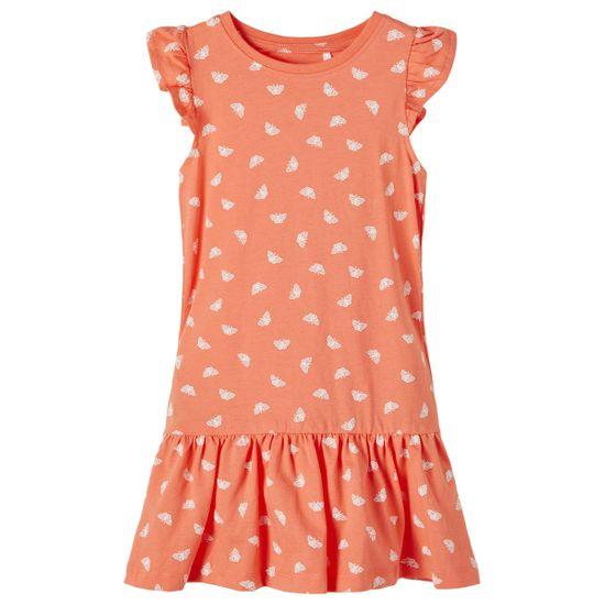 Платье Name it Audrey orange, арт. 211.13189229.PERS, цвет Оранжевый