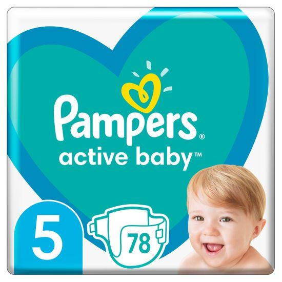 Подгузники Pampers Active Baby, размер 5, 11-16 кг, 78 шт, арт. 8001090950536