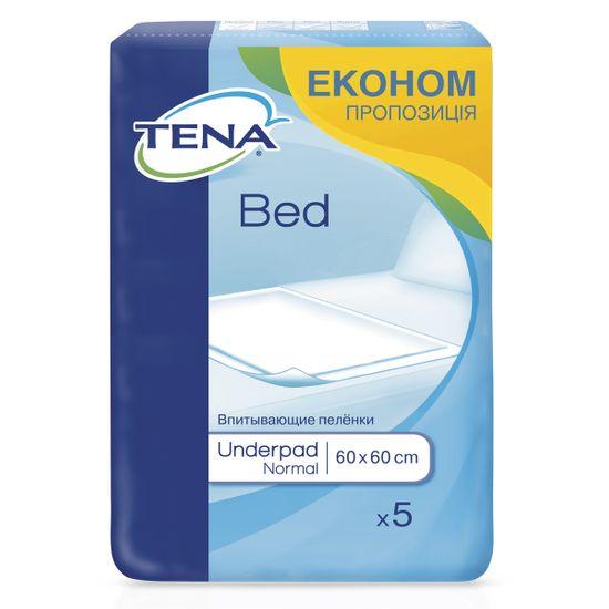 Пеленки одноразовые Tena Bed Normal 60х60см, 5 шт, арт. 770056-04