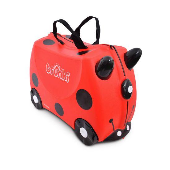 """Детский чемодан Trunki """"Harley"""", арт. 0092-GB01-UKV, цвет Красный"""