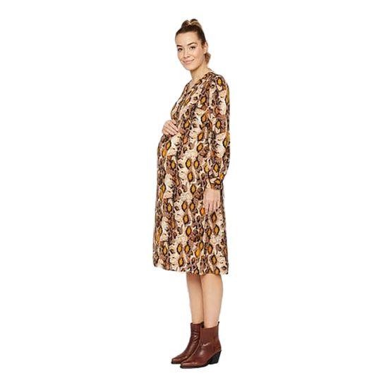 Платье для беременных Mamalicious Fashion, арт. 201.20011209.BLAC, цвет Черный