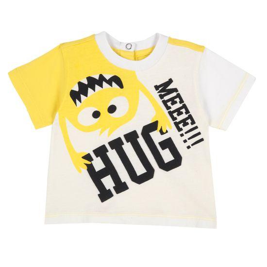 Футболка Chicco Hug me now, арт. 090.67077.034, цвет Желтый