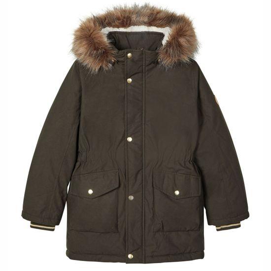 Куртка-парка Name it Unni, арт. 203.13178865.ROSI, цвет Оливковый